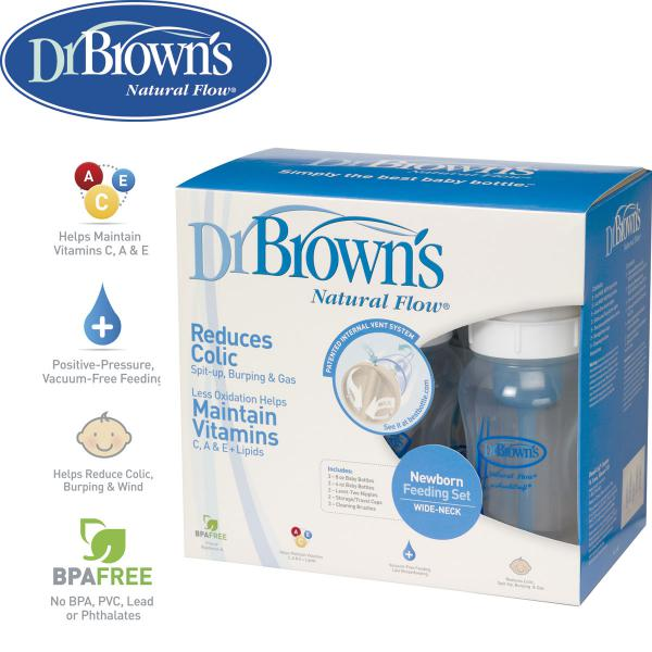 Dr. Brown's BPA Free Natural Flow Anti-Colic Bottle