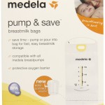 Medela Pump and Save Breast Milk Bags - Good performance and price