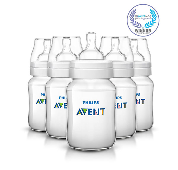 Philips AVENT Classic Plus BPA Free Polypropylene Anti-colic Bottle
