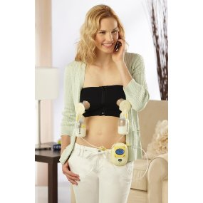 Medela Easy Expression Hands-Free Bustier Black