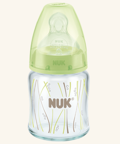 First Choice NUK Glass Bottles