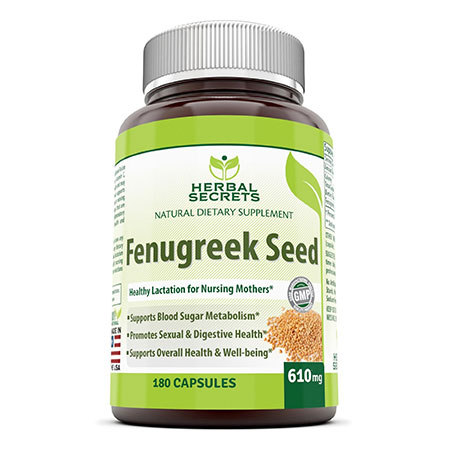 Breast feeding fenugreek herb