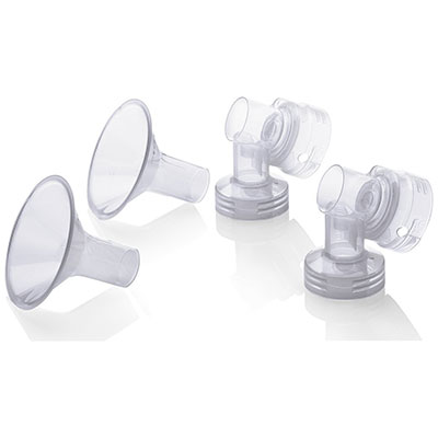 Medela Personal Fit Breastshield Connectors WITH Personal Fit Breastshields