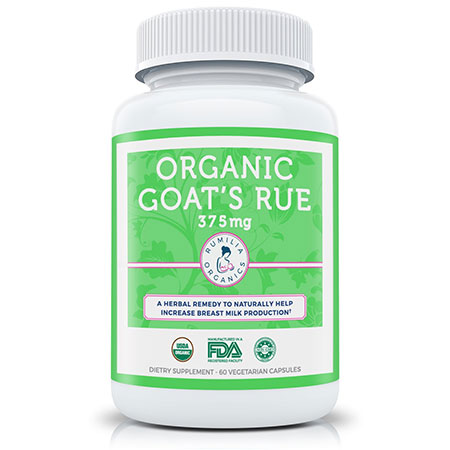 Rumilia Organic Goat's Rue Supplement