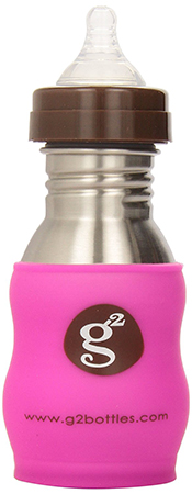 G2 Wave Stainless Steel baby Bottle
