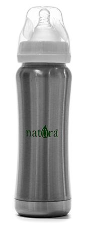 Natura Stainless Steel Baby Bottle