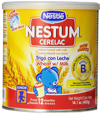 Nestle Cerelac Wheat with Milk Cereal