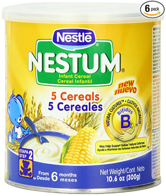 Nestle Nestum Infant Cereal 5 Cereals