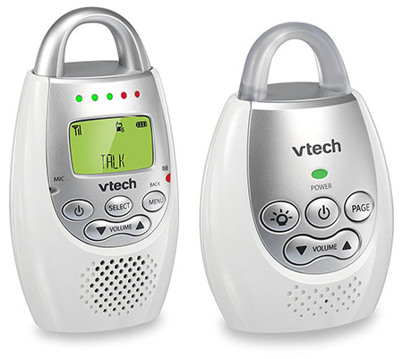 VTech DM221 Safe & Sound Digital Audio Baby Monitor - Best Audio Baby Monitors
