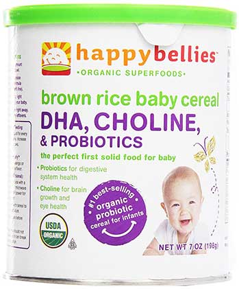 Happy Bellies Organic Brown Rice Cereal